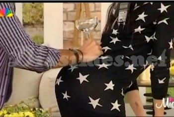 ΚΟΛΑΣΗ!!! Ποια Ελληνίδα…ΣΤΗΘΗΚΕ ΕΤΣΙ, για να κάνει το κόλπο της Kim Kardashian με το ποτήρι;;; (VIDEO)