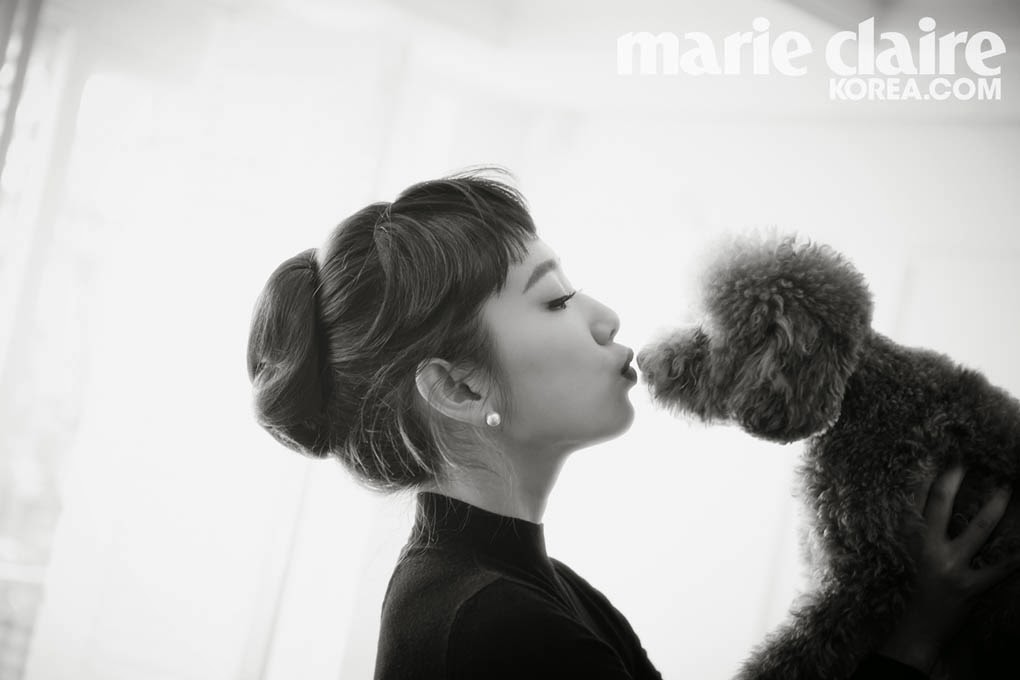 Park Shin Hye - Marie Claire March 2014
