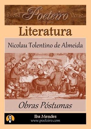 Obras Postumas -  Nicolau Tolentino de Almeida - Iba Mendes - pdf para baixar gratis