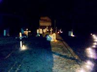 Tumbas en el antiguo cementerio