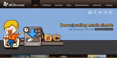 Download UC BROWSER Untuk HP Terbaru 2014