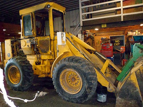 John Deere 544 end loader parts