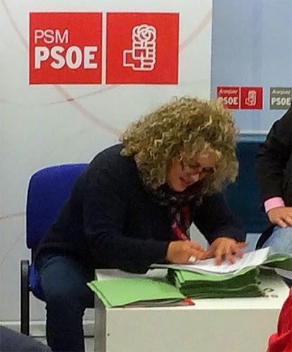 Cristina Moreno PSOE Aranjuez