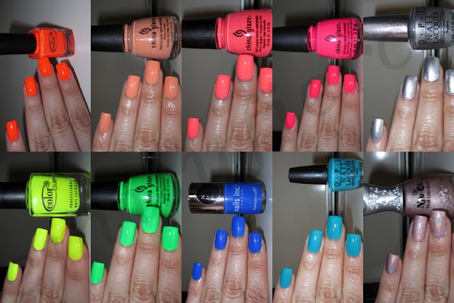 these are my top 10 nail colors for summer 2012 bold colors and neons ...