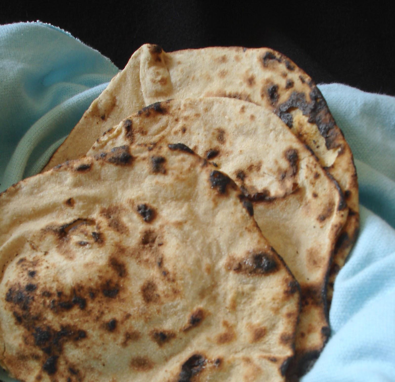 Tandoori Roti on tava