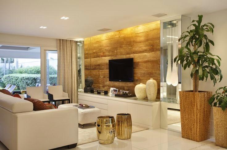 Mural De Fotos Para Sala De Estar ~  Seu Espaço Decoração Para Salas Pequenas Como Acertar No Design