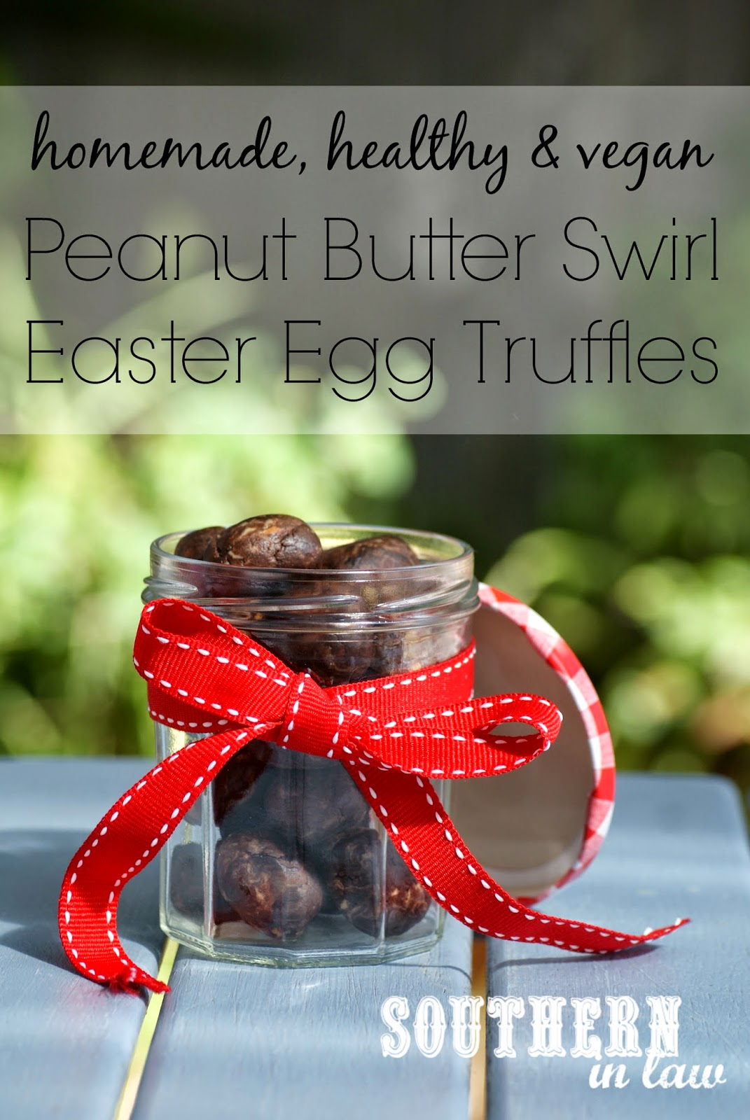 Healthy Homemade Peanut Butter Swirl Easter Eggs Recipe - Gluten free, low fat, sugar free, clean eating friendly, healthy easter recipes