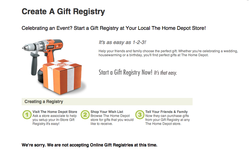 overturning the home improvement store registry conundrum