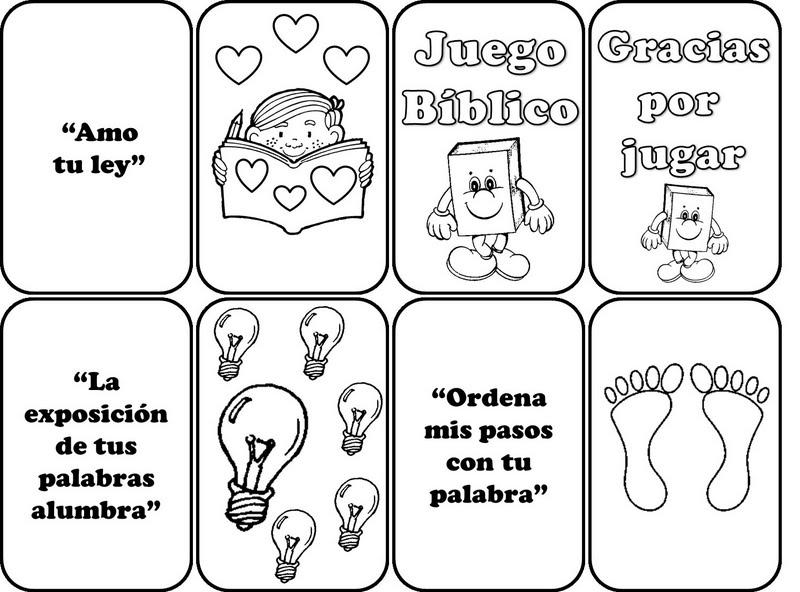 Juegos biblicos para niños - Imagui
