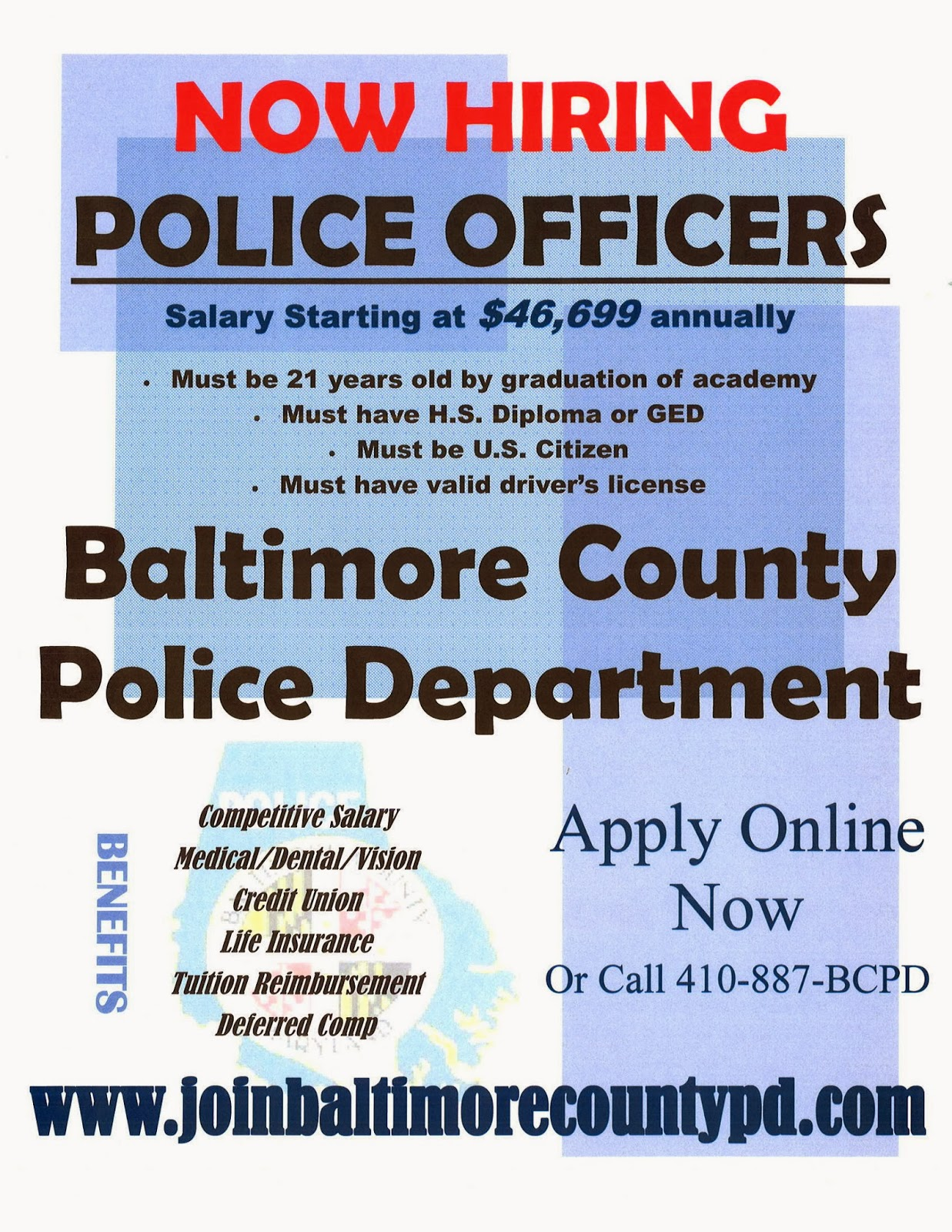 ccjs undergrad blog baltimore county police department now hiring. Black Bedroom Furniture Sets. Home Design Ideas