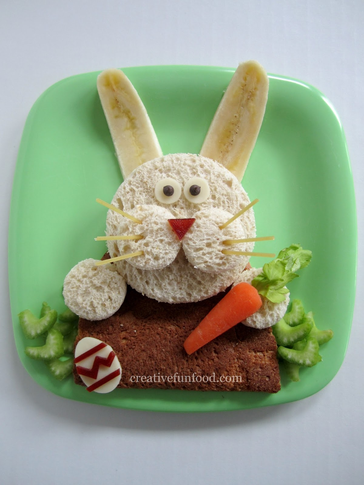 creative food easter bunny lunch and over 20 creative