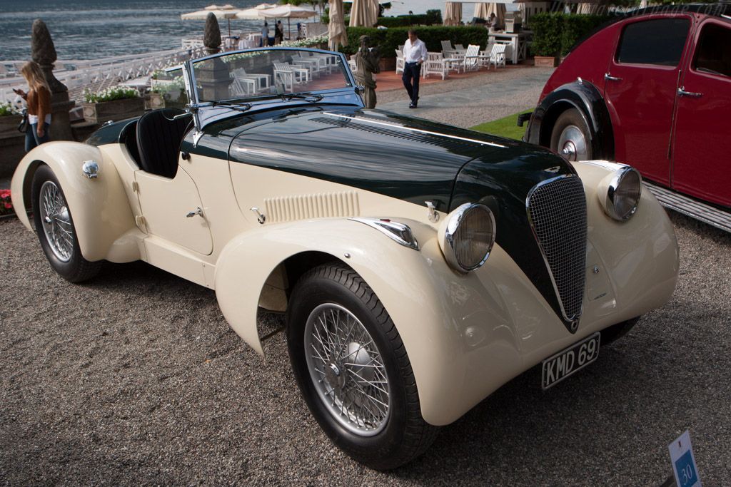 aston martin type  speed model