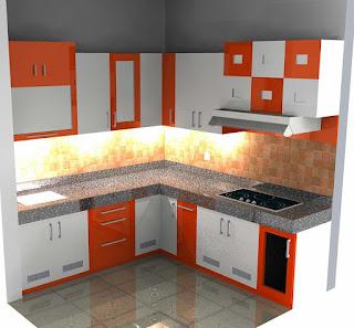 cara membuat dapur yang minimalis