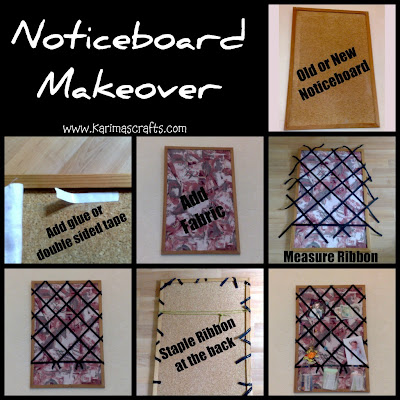 cork board makeover tutorial muslim blog