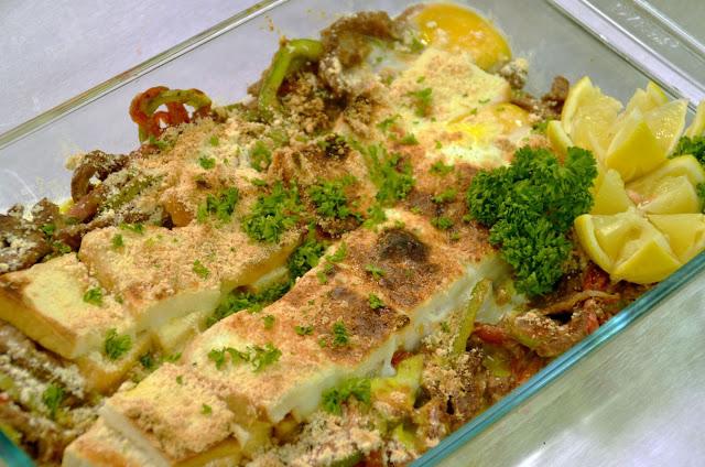 Breakfast Steaks and Eggs Casserole Recipe