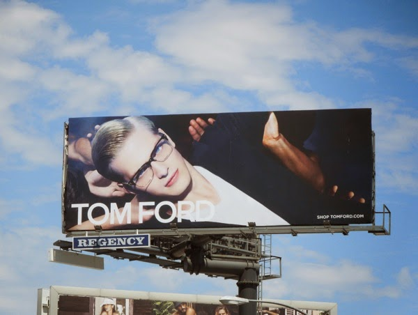 Tom Ford Eyewear Summer 2014 billboard