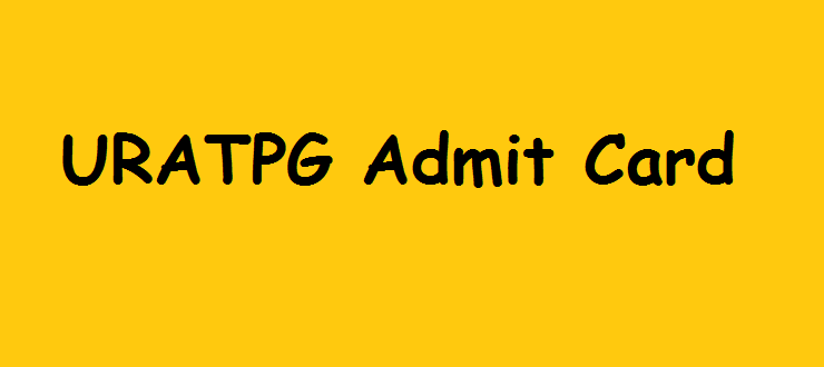 URATPG Admit Card