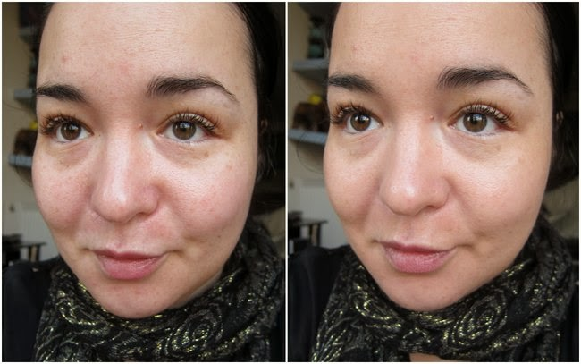 Rimmel Stay Matte BB Cream Before and After