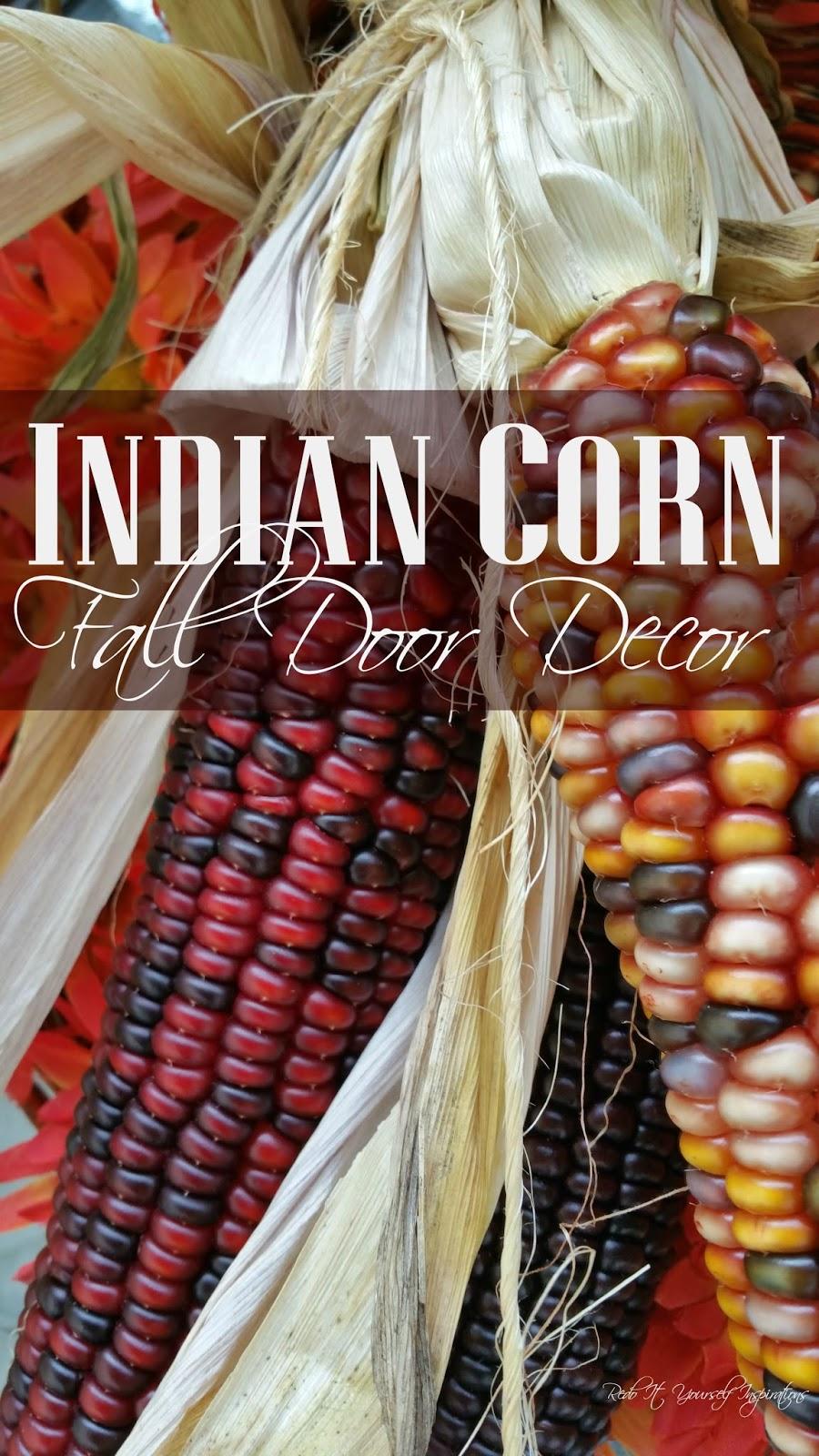 Indian corn door decor redo it yourself inspirations fall indian