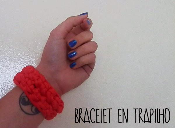 Bracelet en trapilho