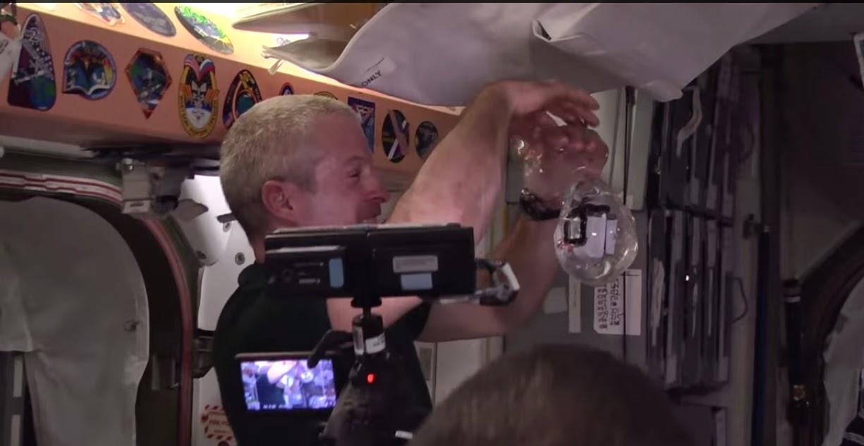 Astronauts GoPro Floating Bubble