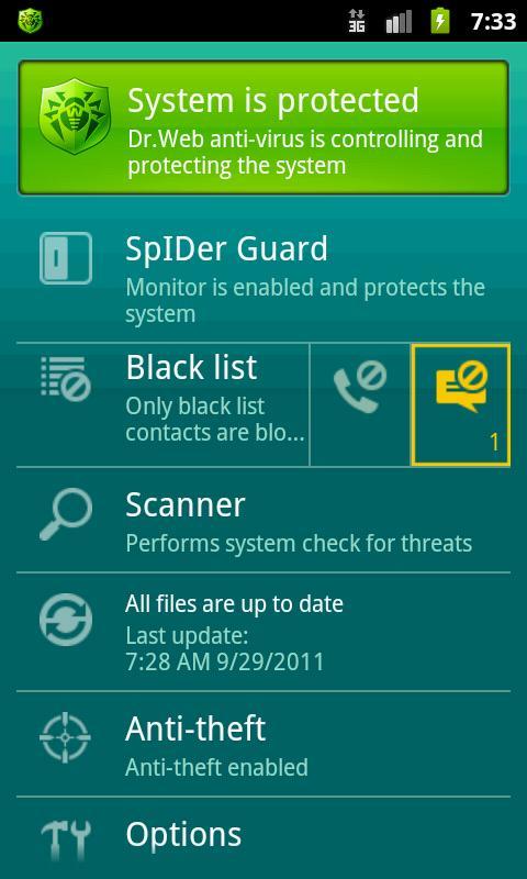 Dr.Web Для Android Ключ