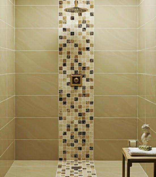 Conseils d co et relooking 13 id es l gantes pour les for Carrelage salle de bain marron et beige