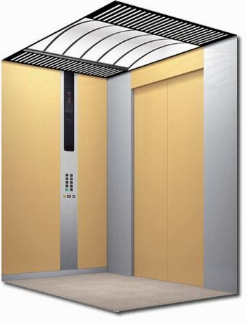 كابينة الاسنسير,كابينة المصعد,الصاعدة,أنواع المصاعد, المصاعد, تكنولوجيا المصاعد, معلومات عن المصاعد,