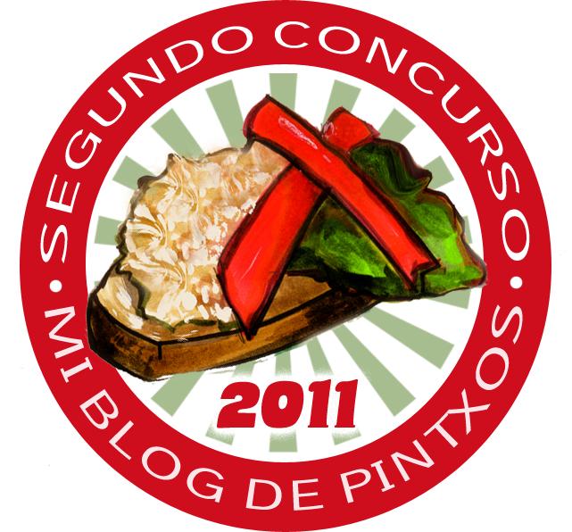 LOGO PARA EL 2  186  CONCURSO MIBLOGDEPINTXOSPintxos Logo