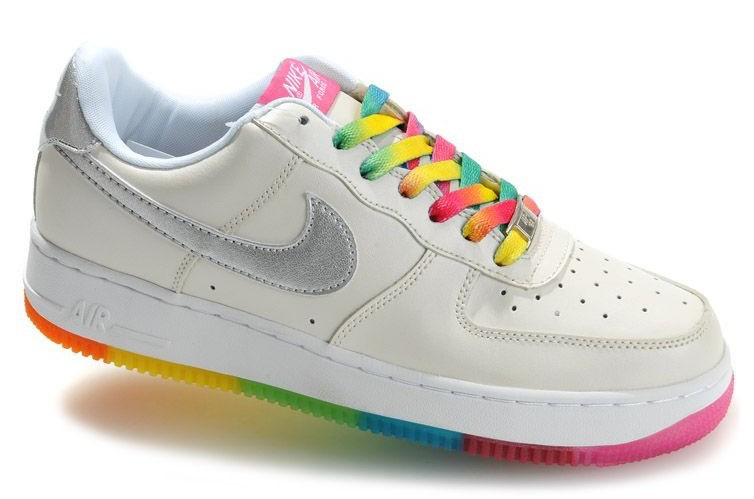 Rainbow Colored Nike Shoes