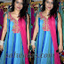 Chinmayi Ghatraju in Sky Blue Netted Salwar