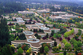 Redmond Headquarters of Microsoft