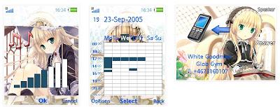 動畫「GOSICK」SonyEricsson手機主題for Elm/Hazel/Yari/W20﹝240x320﹞