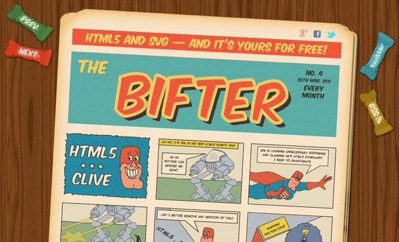 Bifter SVG Comic