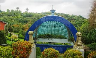 Luarca, jardines de la Fonte baixa