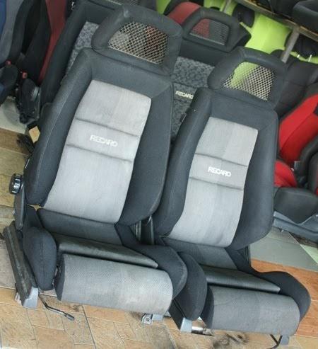 dingz garage seat recaro fishnet slider. Black Bedroom Furniture Sets. Home Design Ideas