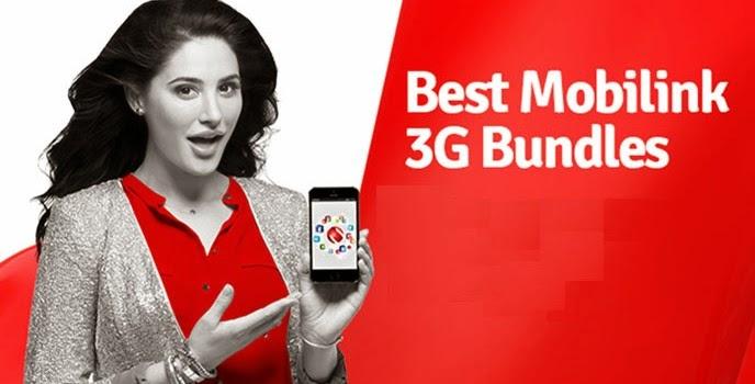Mobilink 30GB 3G Bundles