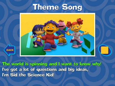 Sid the Science Kid iPad App Review