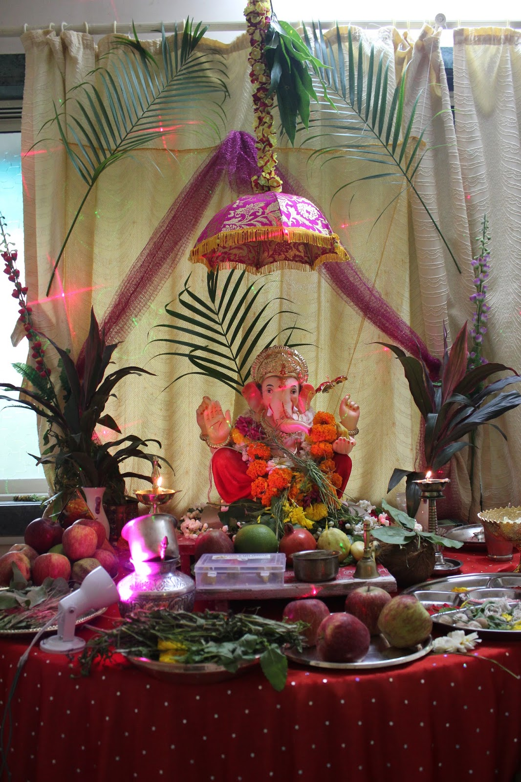 Ganesh chaturthi flowers may flower blog - They Pray For Him Bringing Wisdom Fortune For The Next Year And Remove Any Obstacles Which Are In Their Spiritual Path