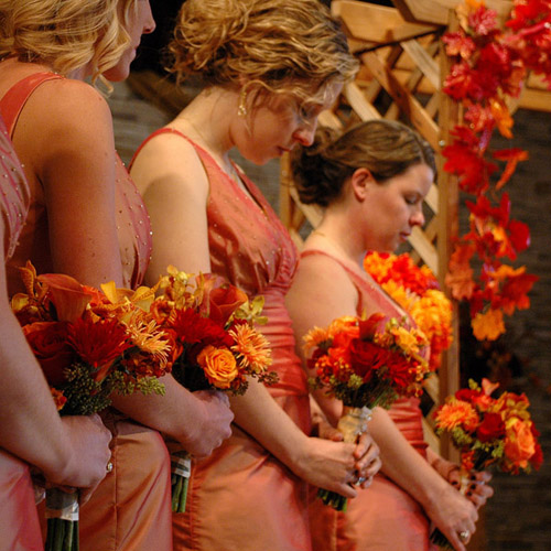 fall wedding idea pictures