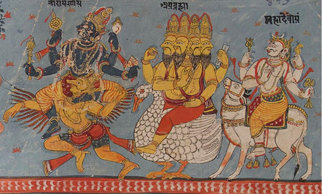 The Sumerian God Anu and the Ancient Seers in the Rig Veda