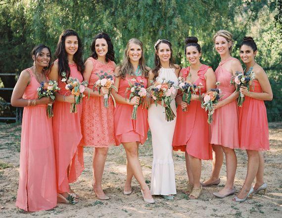 September Bridesmaid Dresses