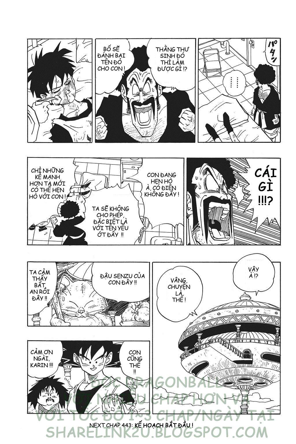 xem truyen moi - Dragon Ball Bản Vip - Bản Đẹp Nguyên Gốc Chap 442