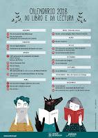 Calendario do libro e da lectura 2018