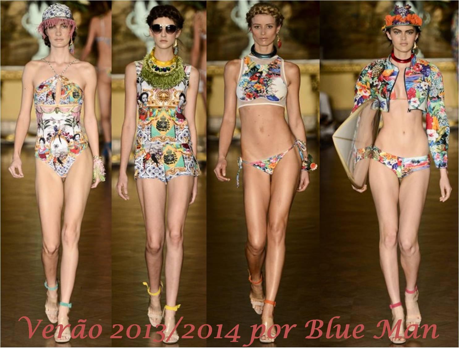 6e8fba2c8 Blue Man  a coleção da marca teve como inspiração