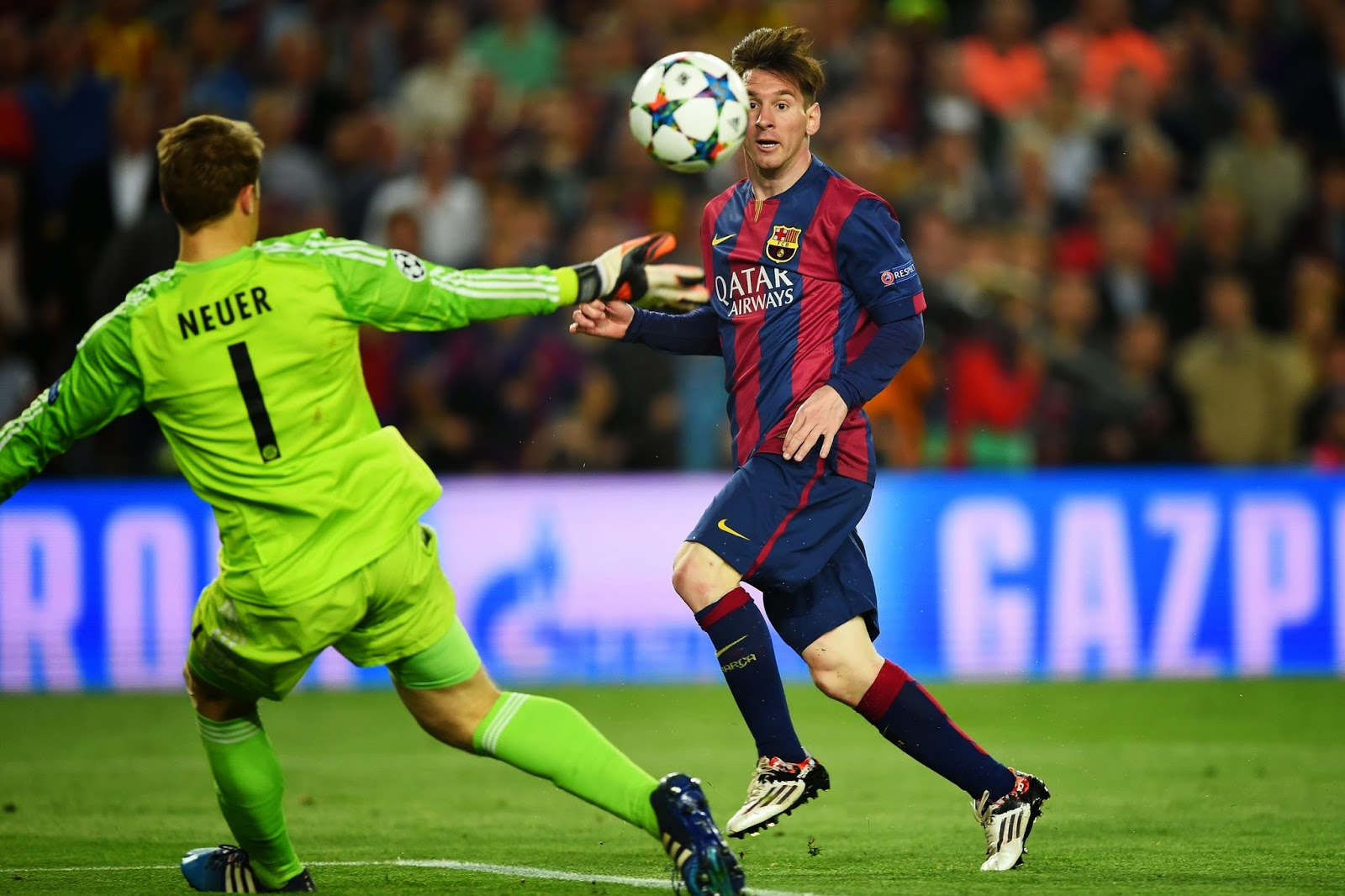 Goal Cantik Messi vs Bayern Munich yang menjadikan Messi Man of The Match