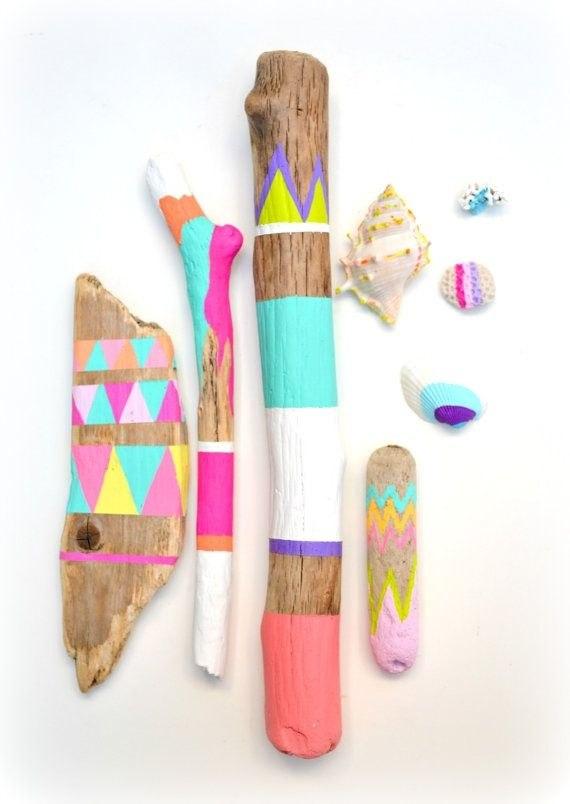 Рисунок на палочках