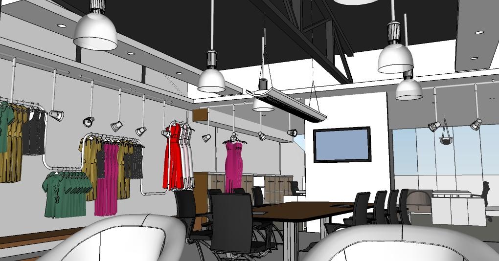 Sedir Textile Showroom Design