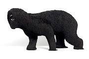 Troy Emery, Black Dog, 2013, high density taxidermy foam, rayon tassels, .