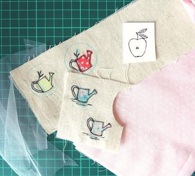 брошки из ткани
